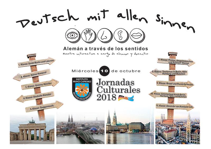 Jornadas Culturales 2018