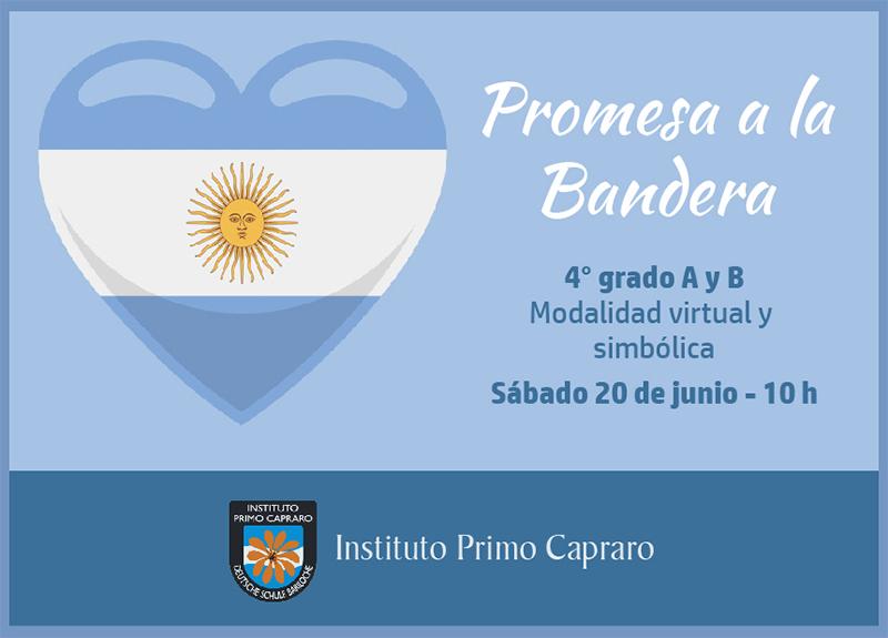 PROMESA BANDERA 2020