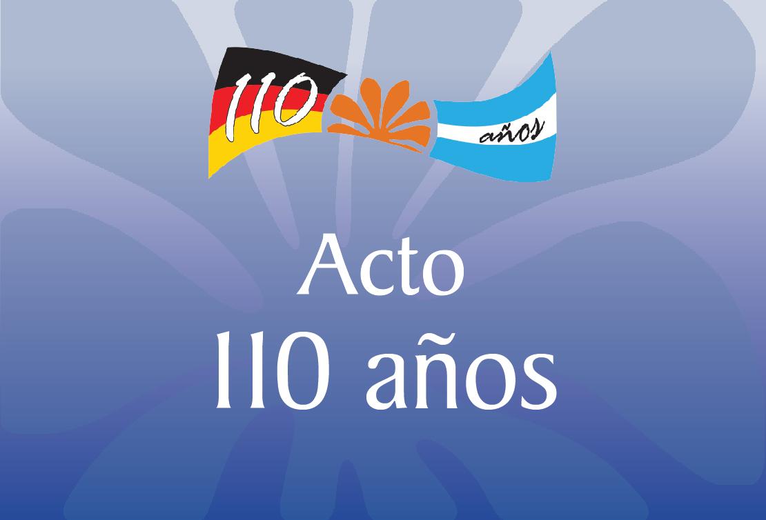 ACTO 110 AÑOS